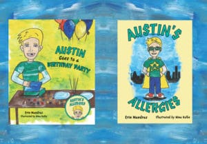 2 Book Combo: Austin's Allergies & Austin Goes to a Birthday Party