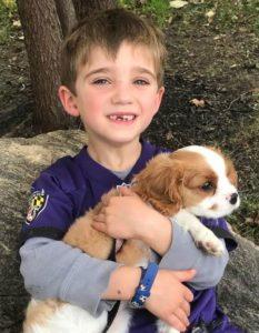 Austin & His Dog